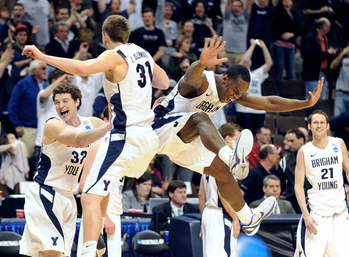NCAA Basketball: Division I Championship-BYU vs Gonzaga | Andrew Carpenean