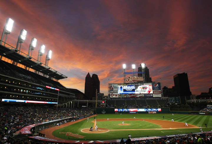 Detroit Tigers at Cleveland Indians | Andrew Carpenean