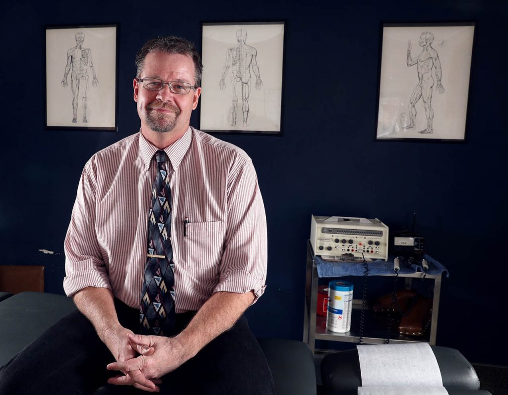 GH Hanssen, owner of Hanssen Chiropractor Clinic, has won several awards throughout his career.