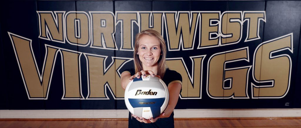 Grand Island Northwest senior Kylie Broich is Captain of the All-Heartland Volleyball Team.