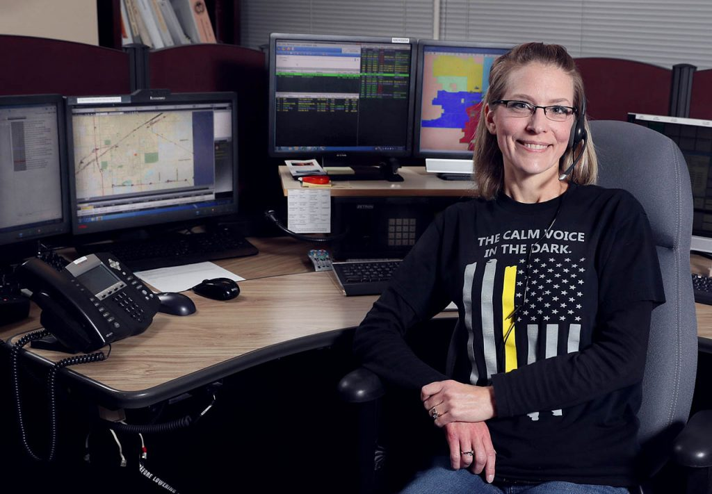 Anna Sorensen is the shift supervisor of the night shift at the 911 Call Center located in the basement of City Hall.