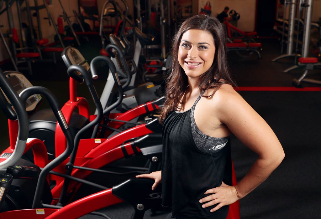 Ashlee Schneider is a certified personal trainer and owner of Snap Fitness at 1711 S. Locust St.